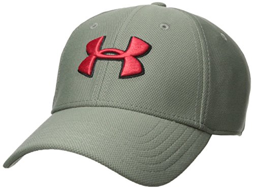 Under Armour Men's Blitzing 3.0 Cap, Moss Green (492)/Pierce, Large/X-Large by Under Armour