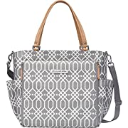 Petunia Pickle Bottom City Caryall Tote, Quartz