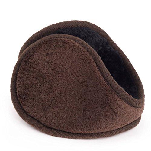 EUBUY Men Women Foldable Classic Fleece Earmuffs