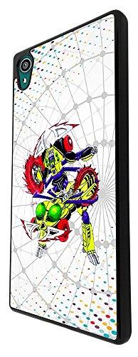 2031 - Cool Cartoon Hero Transformer Robotics Gamers Design For Sony Xperia Z3 Fashion Trend CASE Back COVER Plastic&Thin Metal - Black