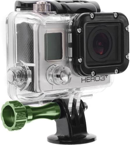 Revo Aluminum Thumbscrew for GoPro 3-Pack, Green