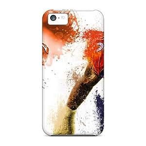 Best Hard Cell-phone Case For Iphone 5c (Avm10811alJO) Unique Design Realistic Denver Broncos Series