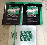 1993 Toyota MR2 MR 2 Service Repair Shop Workshop Manual Set 93 W EWD OEM