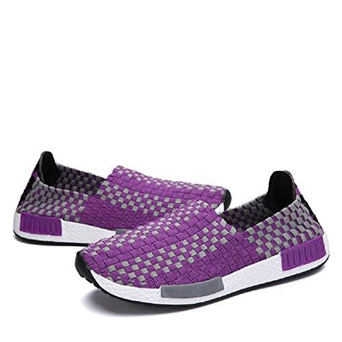 de de respirants basket blanc HouseChaussures Peggie entraînement baskets violet Chaussures amp; running Trail course ete femme tissus sport Compétition homme qBw65aw