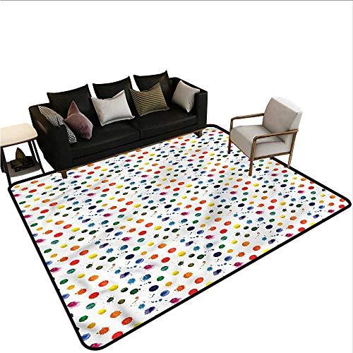 Chandra Splash (Paint,Outdoor Kitchen Room Floor Mat 36