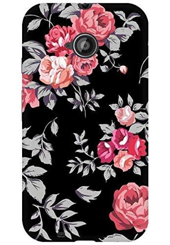 official photos dcf09 90f69 AMEZ Back Cover for Motorola Moto E2 (Black Floral): Buy AMEZ Back ...