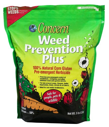 Natural Weed Control (Safer Brand Weed Prevention Plus, 5 Pound bag)