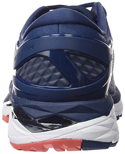 Dark Men Blue Smoke ASICS Kayano 24 Blue Smoke Gel Blue Shoe 6xdxzSw