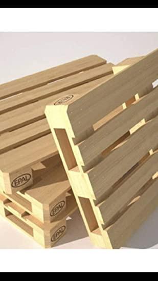 Pallet madera nuevo jardín: Amazon.es: Jardín