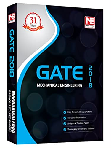 Buy GATE 2018: Mechanical Engineering - Solved Papers (31