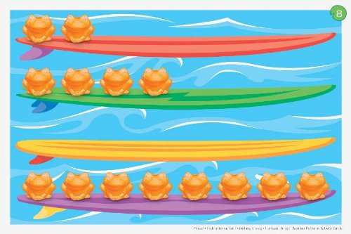 Funtastic Frogs Activity Cards: Number ()