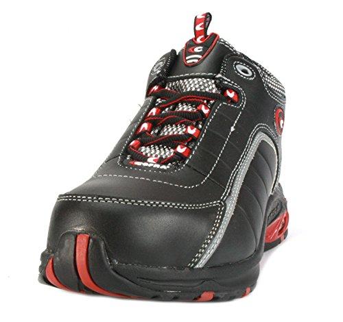 Cofra PJ007-000.W41 Devil S3 Chaussure de sécurité Taille 41 Noir