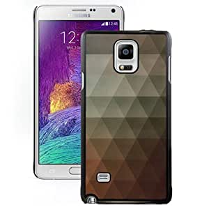 Unique Designed Cover Case For Samsung Galaxy Note 4 N910A N910T N910P N910V N910R4 With Triangle Afreeca Pattern Wallpaper Phone Case Kimberly Kurzendoerfer