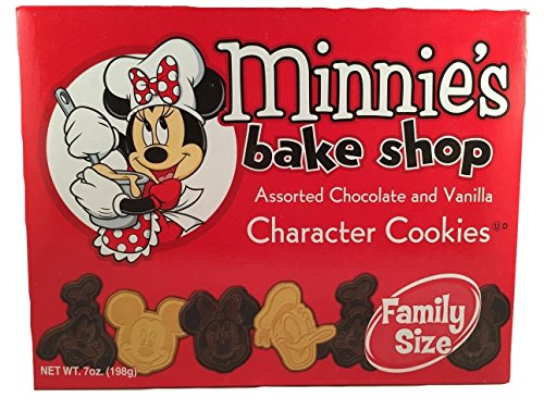 Disney Parks Disneyland Minnie's Bake Shop Assorted Chocolate and Vanilla Character Cookies 7 - Land Disney Shop