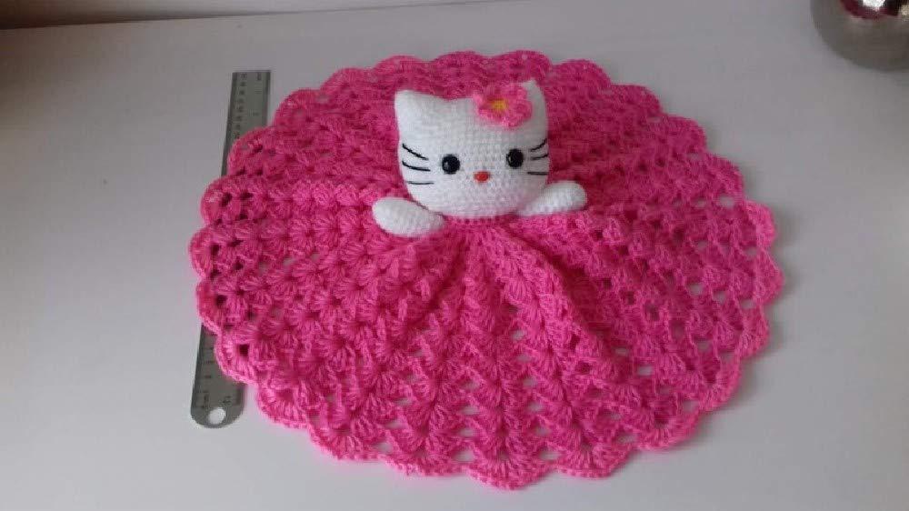 Amigurumi Hello Kitty - FREE Crochet Pattern | Hello kitty crochet ... | 562x1000