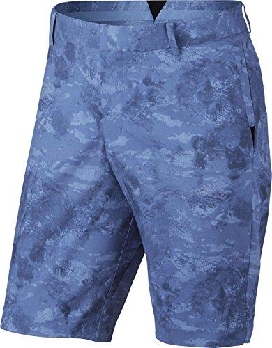 Nike Modern Fit Seasonal Print Golf Shorts 2017 Polar (Nike Print Shorts)