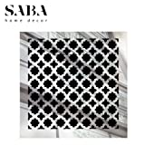 old style vent cover - SABA Fiberglass Decorative Grille Vent Return Register Easy Air Flow Venetian Style Cover 6 inch x 6 inch (8