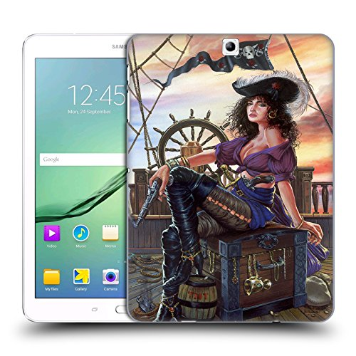 Official Ed Beard Jr Mistress Of The 7 Seas Pirates Medieval Hard Back Case for Samsung Galaxy Tab S2 - Pirate Mistress