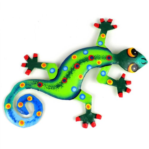 Jungle Design Metal Gecko