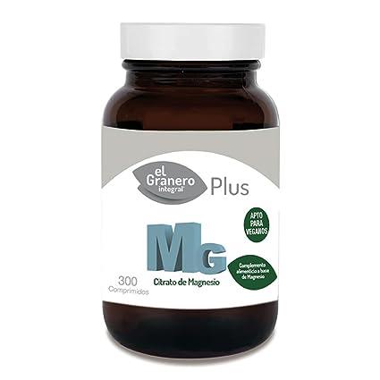 Mg 500 Citrato De Magnesio 300 Comprimidos de El Granero Integral