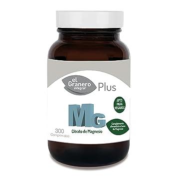 Mg 500 Citrato De Magnesio 300 Comprimidos de El Granero Integral: Amazon.es: Salud y cuidado personal