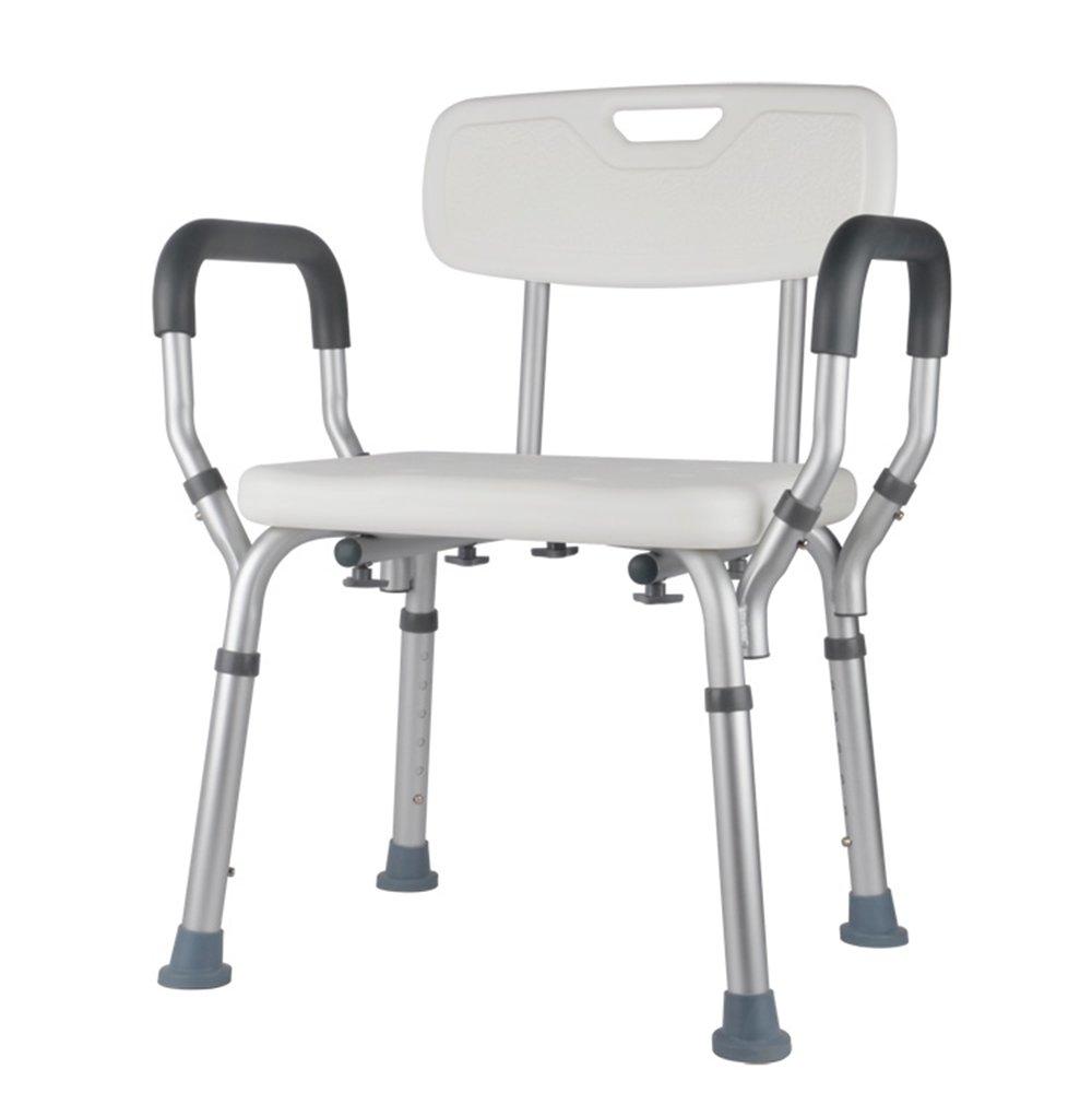 家庭の照明- 高齢者のためのバスタブ/シャワーチェア/障害のあるバスチェア/妊娠中の女性のシャワーチェア/アルミ合金バスのバスルームのスツール B07BT1S6CH
