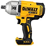 "Automotive : DEWALT DCF899B 20V MAX XR Brushless High Torque 1/2"" Impact Wrench with Detent Anvil"