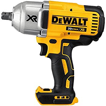 "DEWALT DCF899B 20V MAX XR Brushless High Torque 1/2"" Impact Wrench with Detent Anvil"