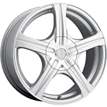 Ultra Slalom 17 Silver Wheel / Rim 5x110 & 5x4.5 with a 45mm Offset and a 73 Hub Bore. Partnumber 403-7711+45S by Ultra