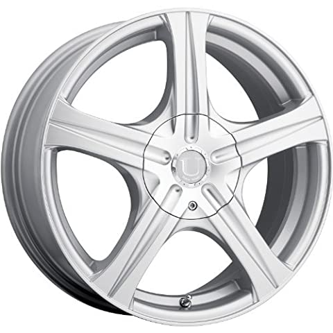 Ultra Slalom 17 Silver Wheel / Rim 5x110 & 5x4.5 with a 45mm Offset and a 73 Hub Bore. Partnumber 403-7711+45S