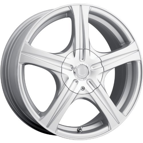 Ultra Slalom 15 Silver Wheel / Rim 5x100 & 5x4.5 with a 35mm Offset and a 73 Hub Bore. Partnumber 403-5618+35S (Toyota Corolla 2007 Rims compare prices)