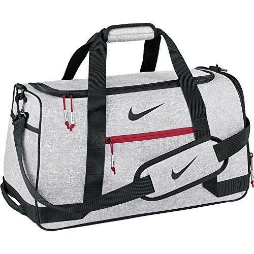 Nike Sport Duffel III Gym Bag, Silver/Black/Gym (Nike Golf Bag For Women)