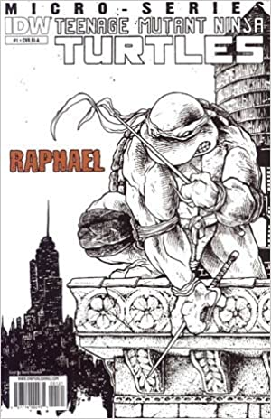 Teenage Mutant Ninja Turtles Micro-Series #1 Raphael ...