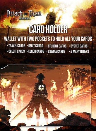 Ataque a los Titanes tarjetero de crédito para Fans - Key ...