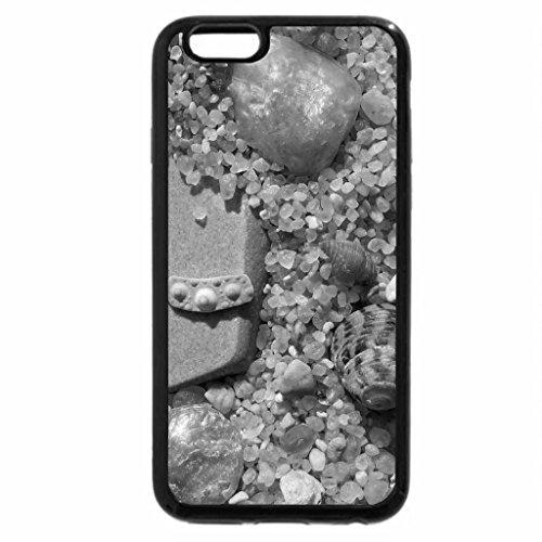 iPhone 6S Case, iPhone 6 Case (Black & White) - BEACH BLING