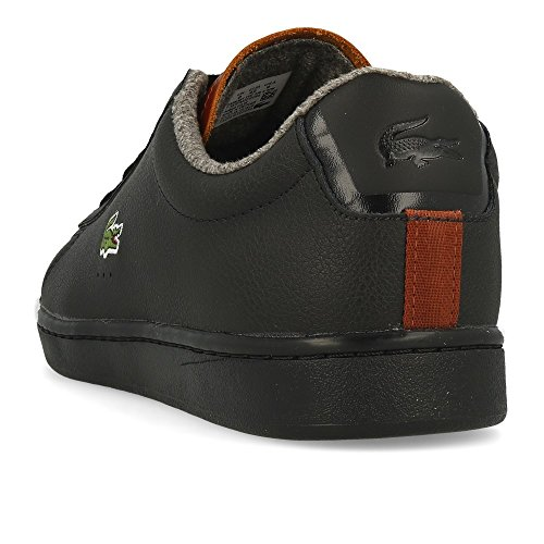Lacoste Men's Carnaby Evo 318 2 SPM Trainers Black (Blk/Brw 094) wide range of discount for sale where can i order iLHHDHs9