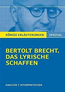 Lyrik In Finsteren Zeiten Die Politische Lyrik Bertolt