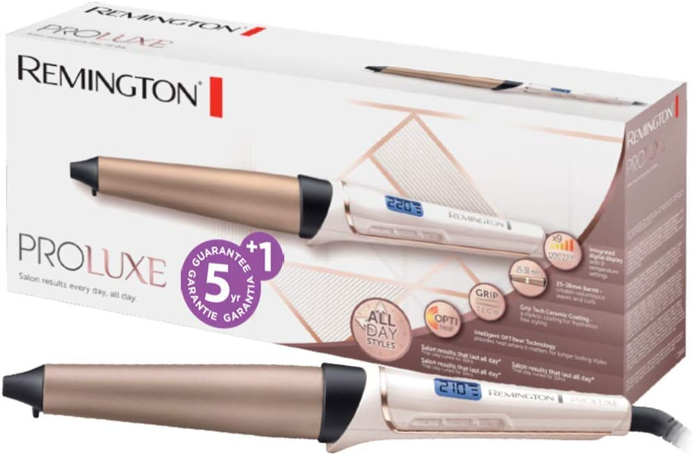 Remington PROluxe CI91X1 - Rizador de pelo, Pinza de 25-38 mm ...