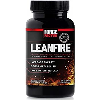 Amazon.com: Force Factor LeanFire Thermogenic Weight Loss