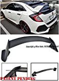 honda civic wing spoiler - Type R Style ABS Plastic Rear Trunk Lid Wing Spoiler Lip For 16-Up Honda Civic 5Dr Hatchback 2016 2017 16 17 JDM Type-R