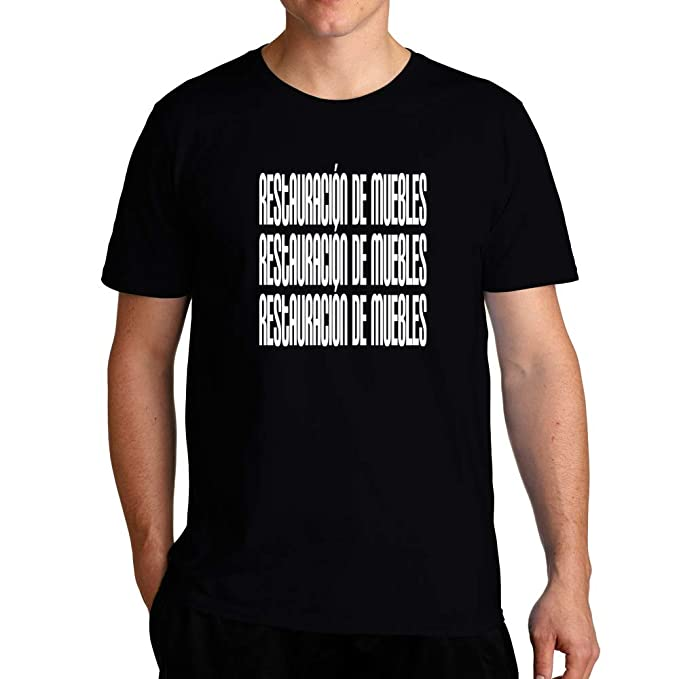 Idakoos Restauración de Muebles repetido - Camiseta: Amazon.es: Ropa y accesorios