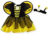 Koala Kids Bumble Bee 2 Piece Baby Girls Halloween Costume Dress