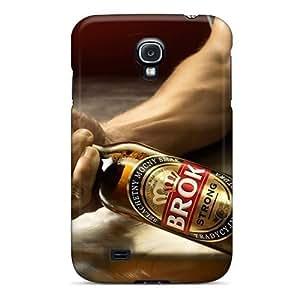 AnnetteL Perfect Tpu Case For Galaxy S4/ Anti-scratch Protector Case (brok)