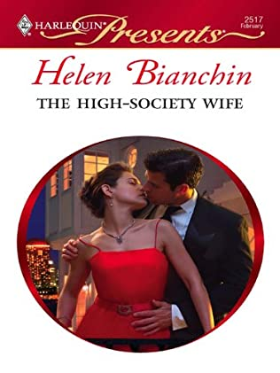 book cover of The High-Society Wife