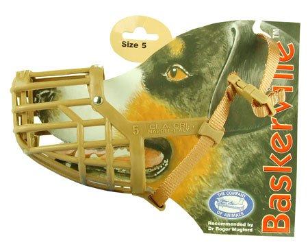Baskerville Deluxe Dog Muzzle - Size 5