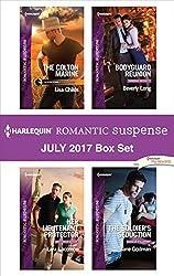 Harlequin Romantic Suspense July 2017 Box Set: The Colton Marine\Her Lieutenant Protector\Bodyguard Reunion\The Soldier's Seduction