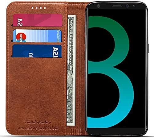 Samsung Galaxy S8/S8 Plus Leather Wallet Phone Case Flip Cover Card Slots