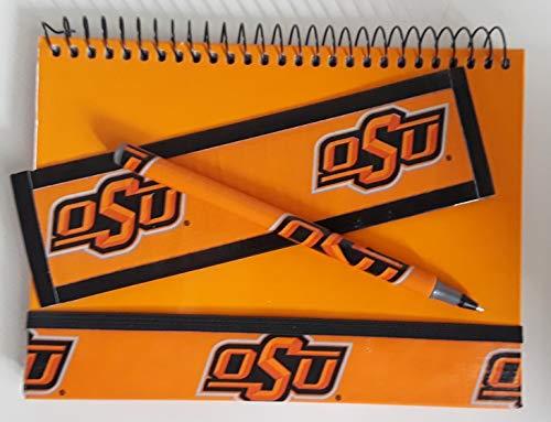 Oklahoma State University OSU Cowboys NCAA Journal Diary Set
