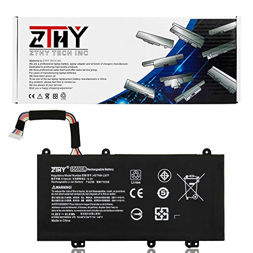ZTHY High Capacity 61.6Whr SG03XL Laptop Battery Replacement for HP Envy M7-U M7-U009DX 17-U011NR 17t-U000 17-U011NR 17-U163CL 17-U177CL Series 849315-850 TPN-I126 849049-421 HSTNN-LB7F 11.55V (Battery Large Capacity Notebook)