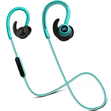 0f02e1d1b35 JBL Reflect Contour Secure Fit Bluetooth Wireless Sport Headphone - Teal  (JBLREFCONTOURTEL)